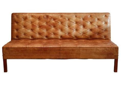 kaare klint tufted leather banquette sofa 1930