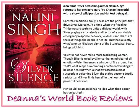 silver silence psy changeling books deanna s world review silver silence psy changeling