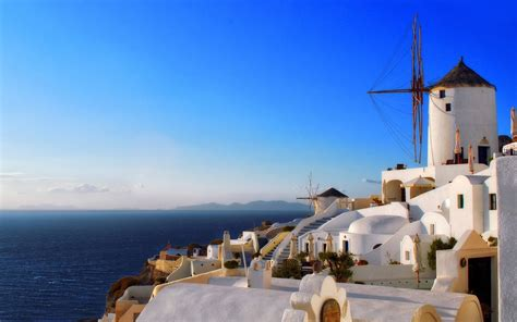 windmills  stone giants   greek land