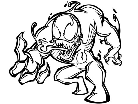 venom coloring pages printable anti venom coloring pages