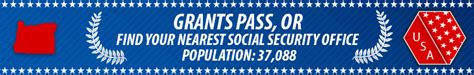 Medford Social Security Office by Grants Pass Or Social Security Offices Ssa Offices In