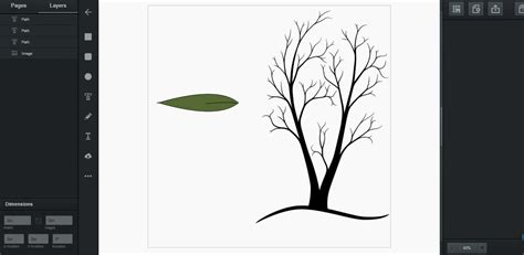 vector tree tutorial tutorials drawing tree vector graphic
