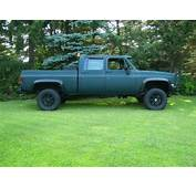 Purchase Used 81 K30 Crew Cab Short Bed Chevy Gmc M1008