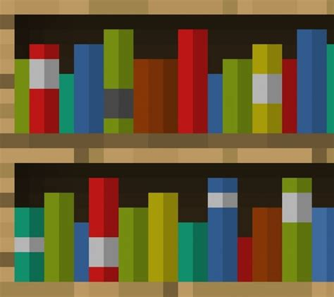 minecraft how to make a bookshelf step by step tutorial