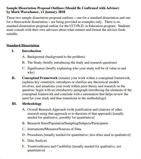 qualitative dissertation outline qualitative thesis format