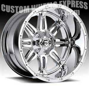 Chrome Truck Wheels Fuel Hostage D529 Chrome Pvd Custom Truck Wheels Rims