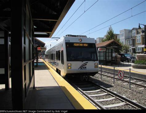 photos santa clara vta light rail aug 31
