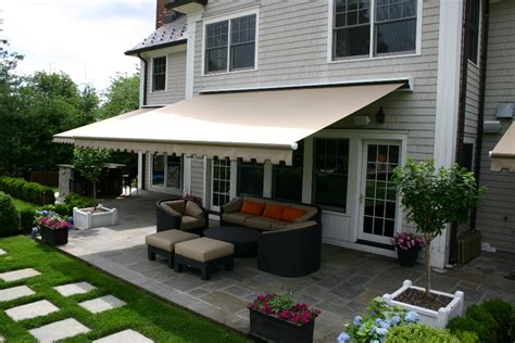 residential retractable awnings custom retractable awnings photo gallery dean custom awnings