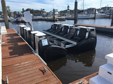 floating boat lifts oceanone - Floating Boat Lift Used