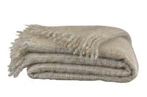 deck e mohair decke mona beige meliert bei bed bath g 252 nstig