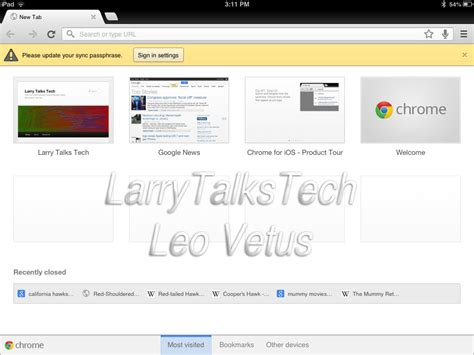 layout chrome app best usable ipad apps for 2012