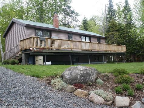 maine waterfront property in caribou eagle lake presque isle