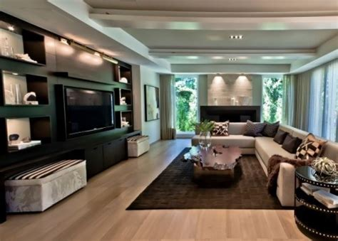 tv lift in front of window contemporary living room nice tv area home theater pinterest modern living