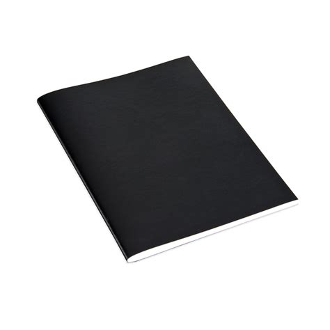 Black Book Note Book bookbinders design stitched notebook black