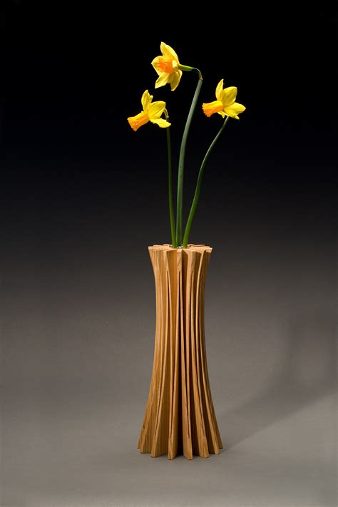 solid wood handcrafted vases bookends seth rolland