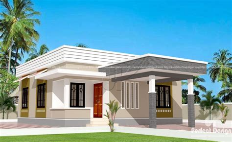 829 sq ft low cost home designs kerala home design