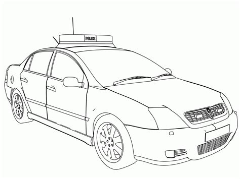 volvo 850 police uk police car coloring page