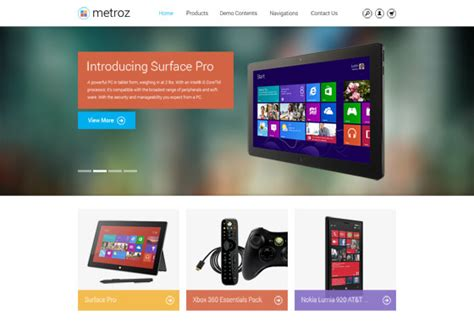 slideshow themes drupal preview on responsive drupal ecommerce theme tb metroz