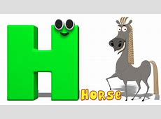 Phonics Letter- H | Alphabet Rhymes For Toddlers | ABC ... H