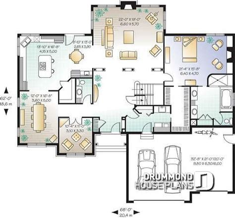 American Home Plans by House Plan W2661 Detail From Drummondhouseplans