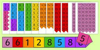 printable number arrow cards place value arrow cards place value ones tens hundreds
