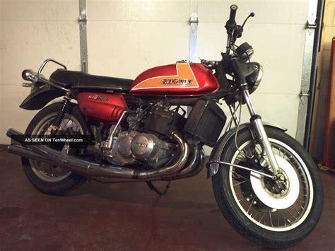 Suzuki Gt750 Kettle 1973 Suzuki Gt750 K Lemans Water Buffalo Kettle