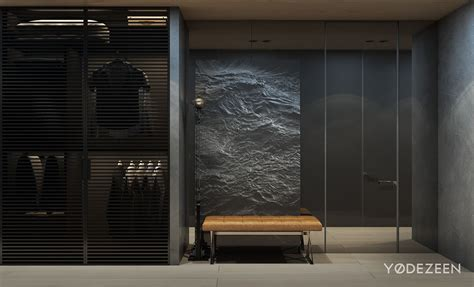 dark apartment design style theme  ideas  yo dezeen