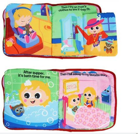 Softbook Buku Kain Buku Bayi How Do I Feel lamaze emily s day cloth book buku dalam bentuk kain