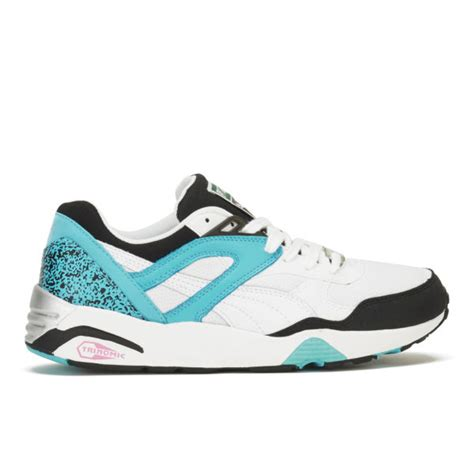 Trinomic R698 Pink s trinomic r698 trainers blue pink free uk