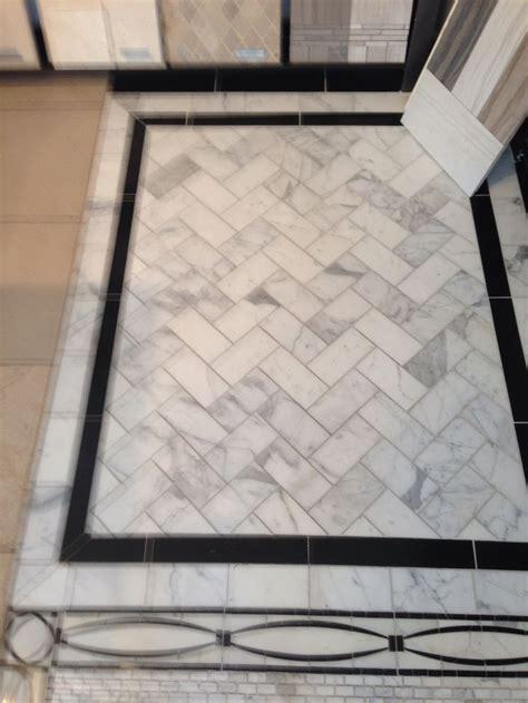 pattern border tiles image result for pinterest white penny round tile black
