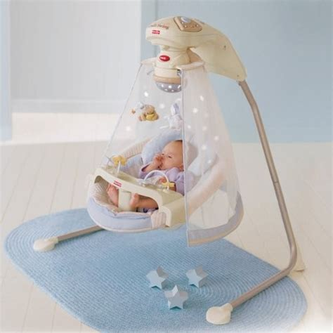 Fisher Price Starlight Cradle Baby Swing Contemporary