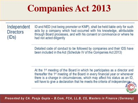 appointment letter of kmp companies act 2013 companies act 2013