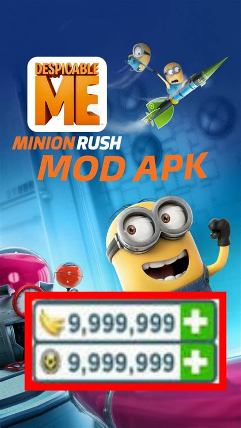 download game android minion rush mod descargar minion rush v4 4 0k mod apk download gameplay
