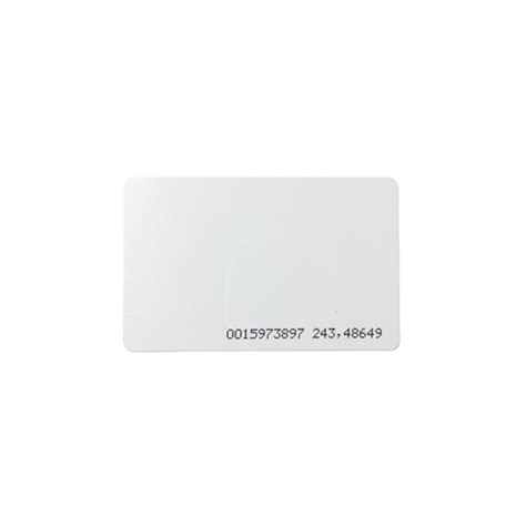 printable rfid card rfid card 125khz em4100 printable 10 pack