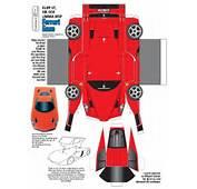 Car Papercraft Template  Craft Toys Pinterest Create