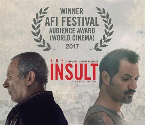 film asing terbaik oscar the insult film lebanon pertama yang lolos oscar seleb