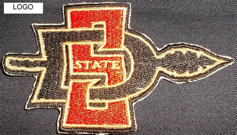 Does Sdsu Mba Program Look At Ws by San Diego State Aztecs Logo Iron On Patch College Ncaa