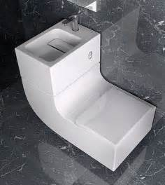 space saving sink and toilet combined design