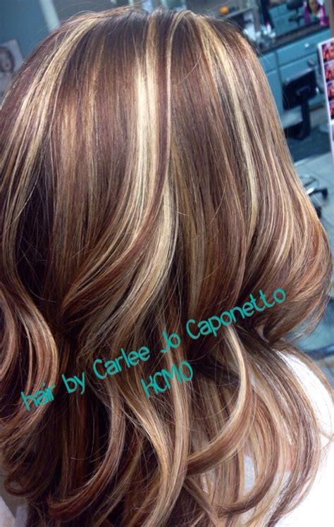 pics of highlights and lowlights highlight lowlight by me hair pinterest highlights