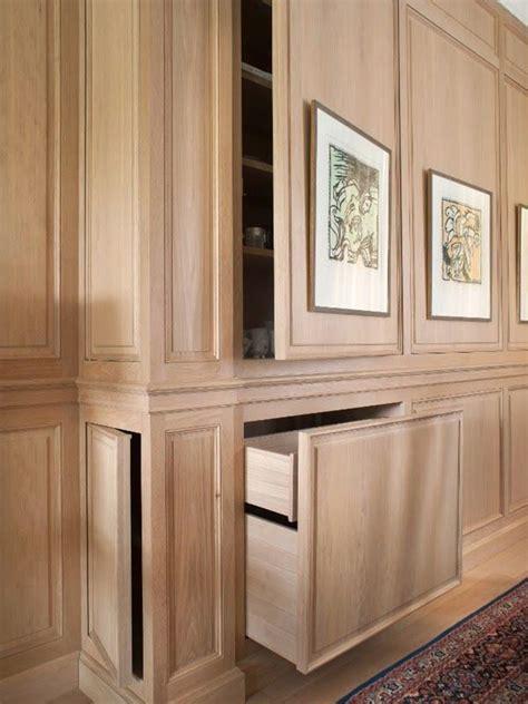 hidden storage incorporating touch latch hardware kitchen studio of
