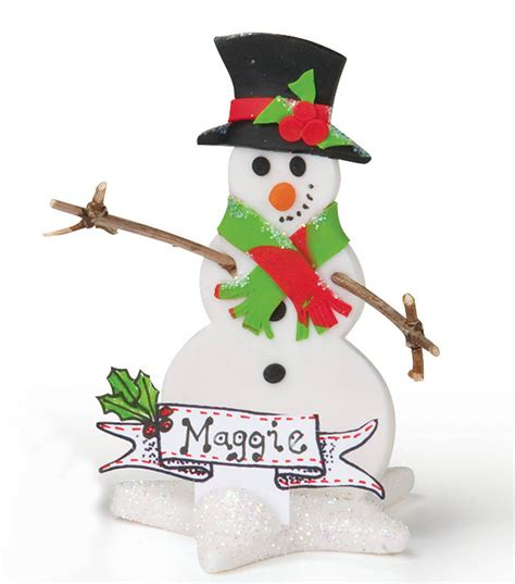 standing snowman christmas card holder snowman place card holders joann jo