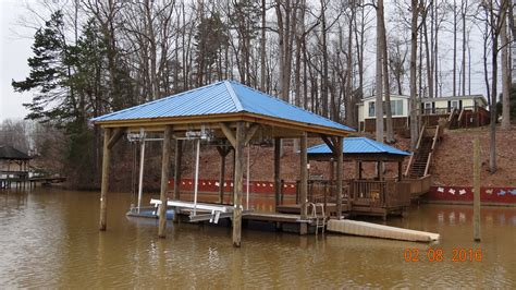 boat lift us boat lifts us dock builder installing top of the line