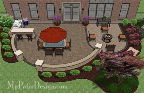 Patio Ideas For Entertaining Patio Design For Entertaining With Grill Station Bar 900