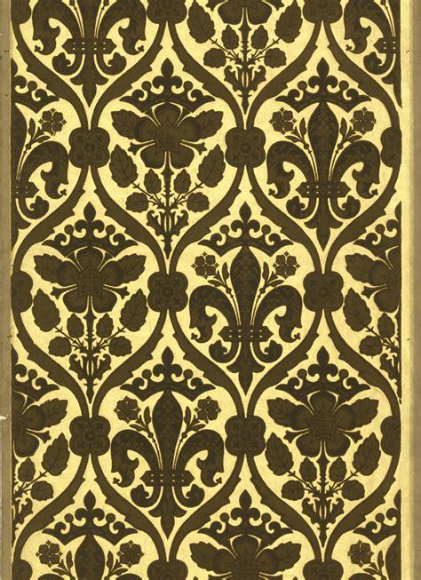 tudor style wallpaper pugin s gothic revivalcooper hewitt smithsonian design