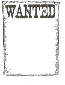 free wanted poster template printable classroom freebies wanted poster