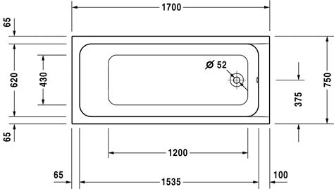 standard length of a bathtub products kingkraft