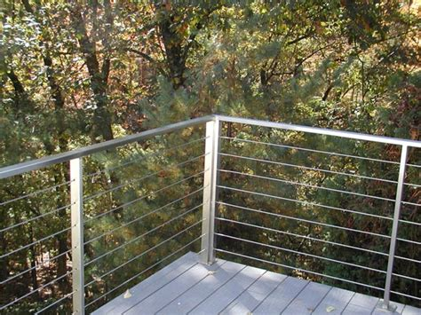 Wire Handrail Ledgerock Custom Metal Fabricators Image Gallery Of