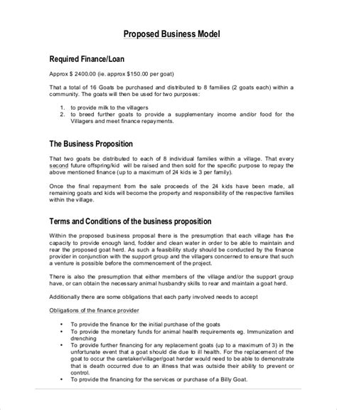 templates for business proposals business 19 free pdf word psd documents