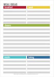 simple home organisation printables picklebums
