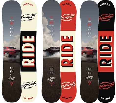 tavola snowboard all mountain ride snowboard bruciato all mountain freestyle con